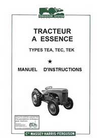 Massey ferguson tea 20 fiche technique